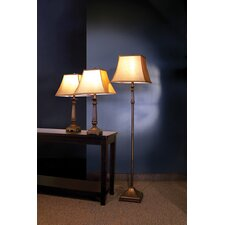 Athens Traditional 3 Piece Table Lamp Set