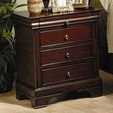 Kearny 3 Drawer Nightstand