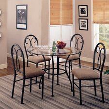 Winterport 5 Piece Dining Set