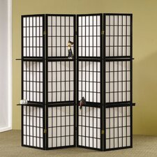 Folding Screen in Black