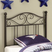 Bowdoin Transitional Twin Metal Headboard