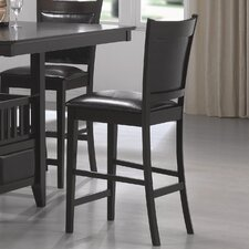 Forsan Counter Height Barstool in Cappuccino