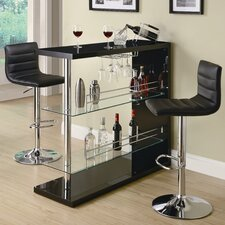 Fairlie Bar Table in Black