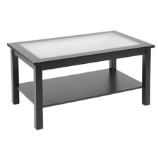 Bay Shore Coffee Table with Glass Top