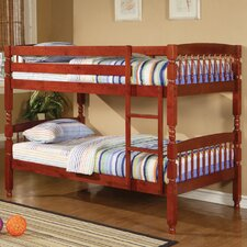 Creekside Twin over Twin Bunk Bed with Built-In Ladder