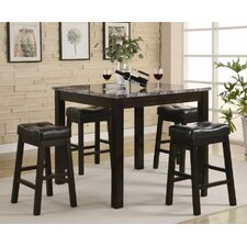 Beddington 5 Piece Counter Height Dining Set