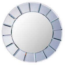 Toppenish Sun Shaped Beveled Mirror