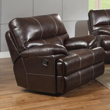 Carlos Bonded Leather Recliner