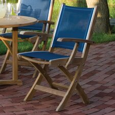 Tides Folding Dining Arm Chair