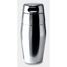 Luigi Massoni 17.5 oz. Silver Cocktail Shaker