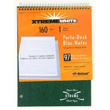 "8-1/2"" x 11-1/2"" 1 Subject Porta-Desk Notebook"