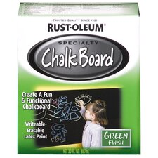 1 Quart Green Chalk Board Paint