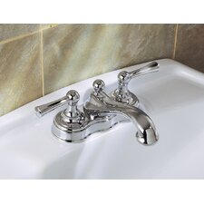 Tiara Centerset Bathroom Faucet with Double Lever Handles