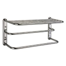 Three Tier Towel Rack in Chrome