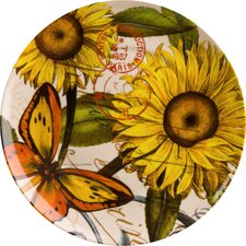 Accents Nature Sunflower Plate (Set of 4)
