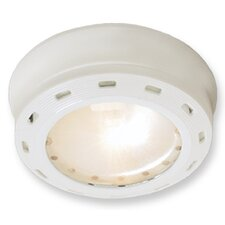 1 Light White Xenon Puck Light G9161-WHX-I