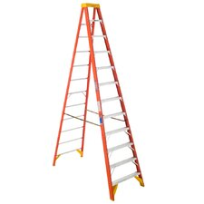 "144"" Load Bearing Fiberglass Step Ladder"