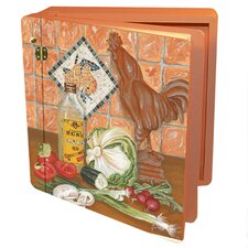 Home and Garden Rooster Recipes Memory Box