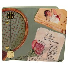 Sports Rules of Tennis Mini Book Photo Album