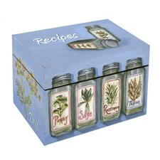 Herbs Recipe Box