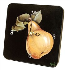 Pear Tiny Times Clock