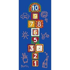 Jump 123 Hopscotch Kids Rug