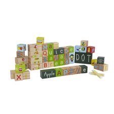 PBS Exploration Blocks - Letters 45 Piece Set