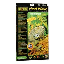 Exo Terra Heatwave Rainforest Terrarium Substrate Heater