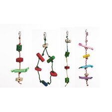 Living World Create Your Own Wooden Hookbill Bird Toy Kit