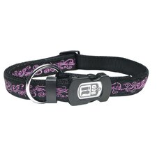 Dogit Style Urban Edge Adjustable Nylon Collar and ID Plate