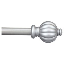 Classic Pumpkin Curtain Rod and Hardware Set
