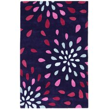 Structure Purple Rain Rug