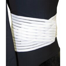 Low Contour Lumbar Sacral Support in White