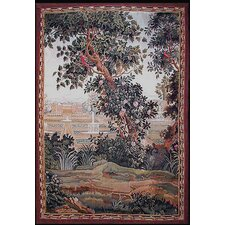 Grandeur Landscape Blooming Tree Novelty Rug