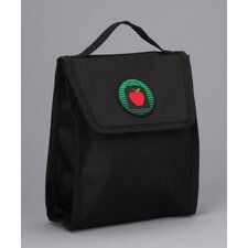 Matthew Snack Bag in Black / Black Trim and Liner