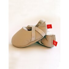 Welcome Booties Slipper in Natural Sheepskin