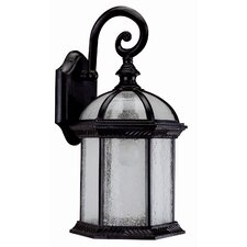 Hexagon 1 Light Outdoor Wall Lantern