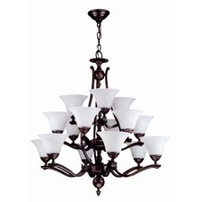 Devonshire 15 Light Up Chandelier