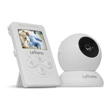Lila Digital Baby Video Monitor with Night Vision and Talk to Baby Intercom