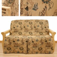 New World Skirted Futon Cover