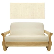 Solid Natural Futon Cover