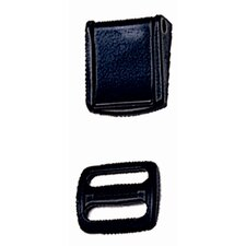 Cam-Lock Buckle with Slider (Pack of 2)