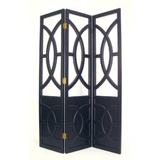 Florence Room Divider in Black