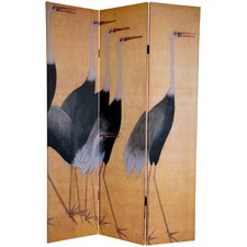 6Feet Tall Double Sided Cranes Room Divider