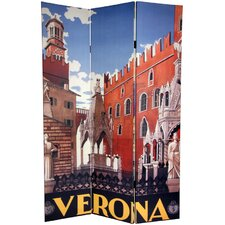 6Feet Tall Double Sided Capri/Verona Room Divider