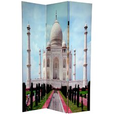 6 Feet Tall Double Sided Taj Mahal Room Divider
