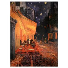 "Cafe Terrace on The Place Du Forum Canvas Wall Art - 23.5"" x 31.5"""