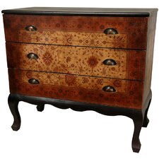 Olde-Worlde Euro Three Drawer Console Table