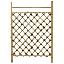 Bamboo Fence Door