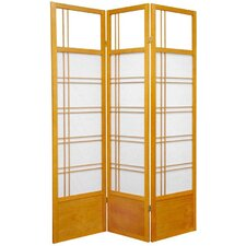 Kumo Classic Shoji Room Divider in Honey